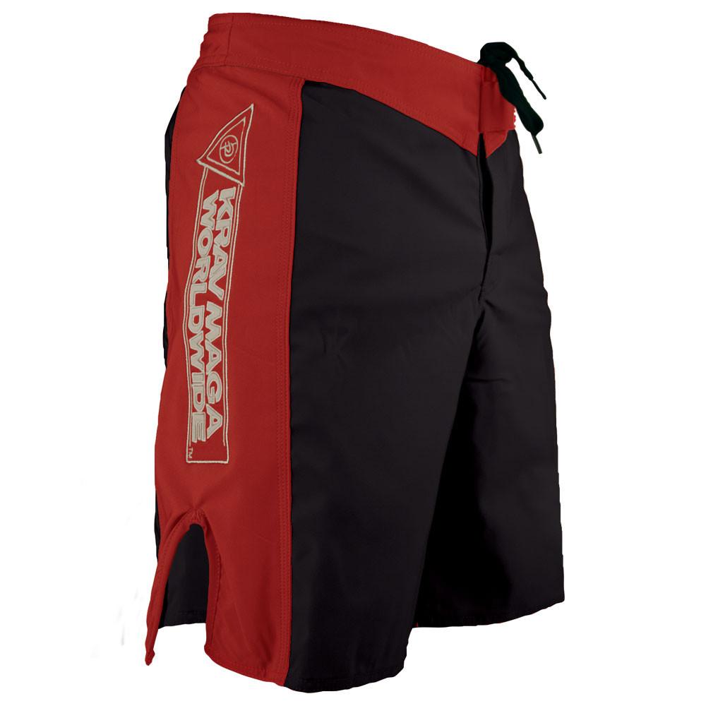 Krav Maga Shorts - Black/Red