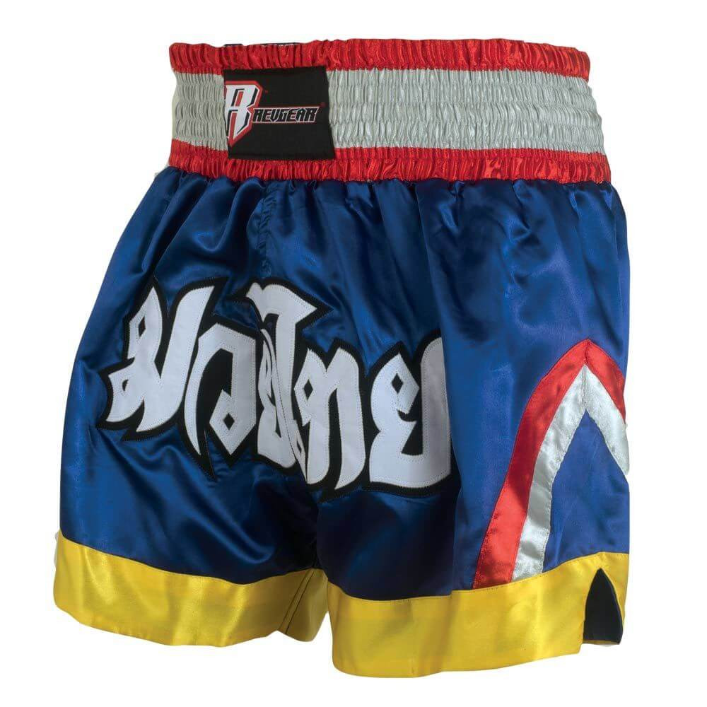 Deluxe Muay Thai Shorts - Blue