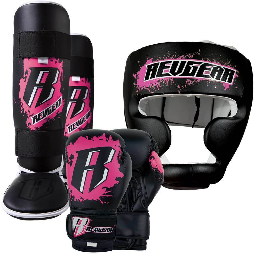 Kids Deluxe Kickboxing Kit - Pink