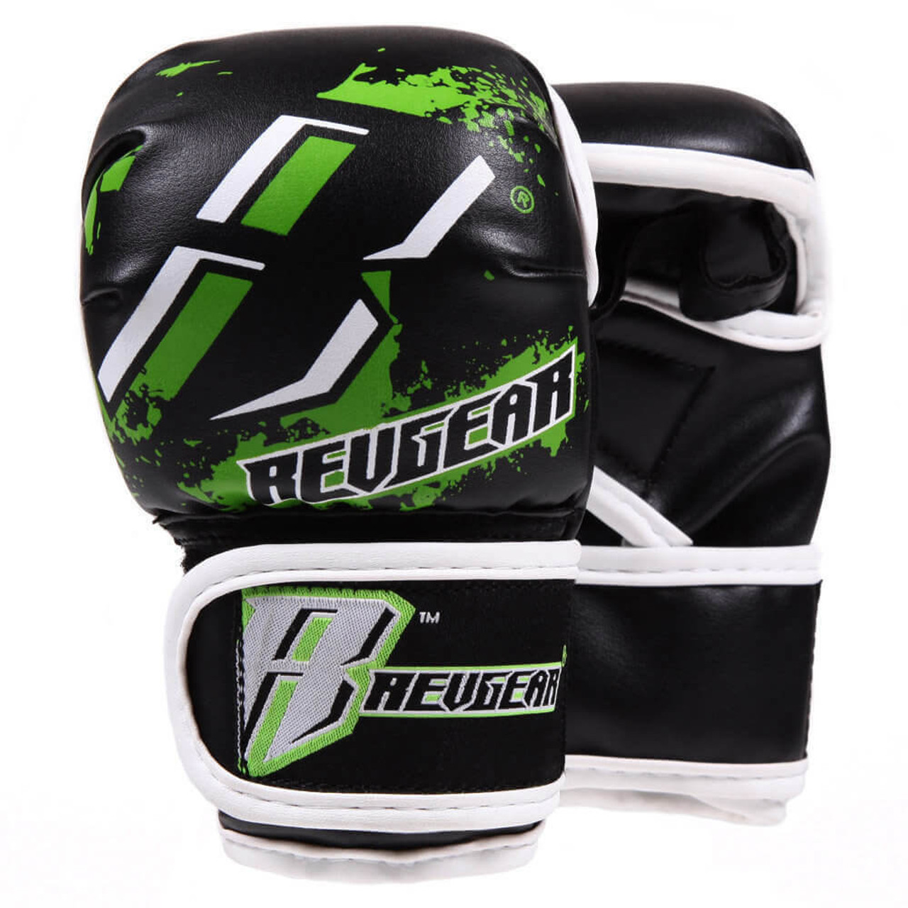 Youth Deluxe MMA Gloves - Green