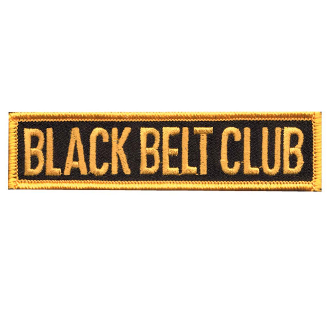 Black Belt Club - Belt Patch