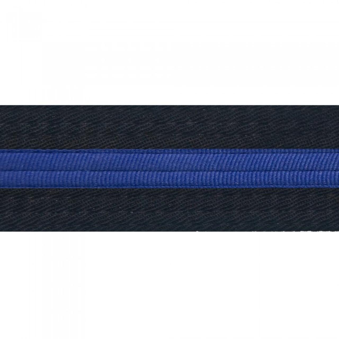 Striped Black Belt