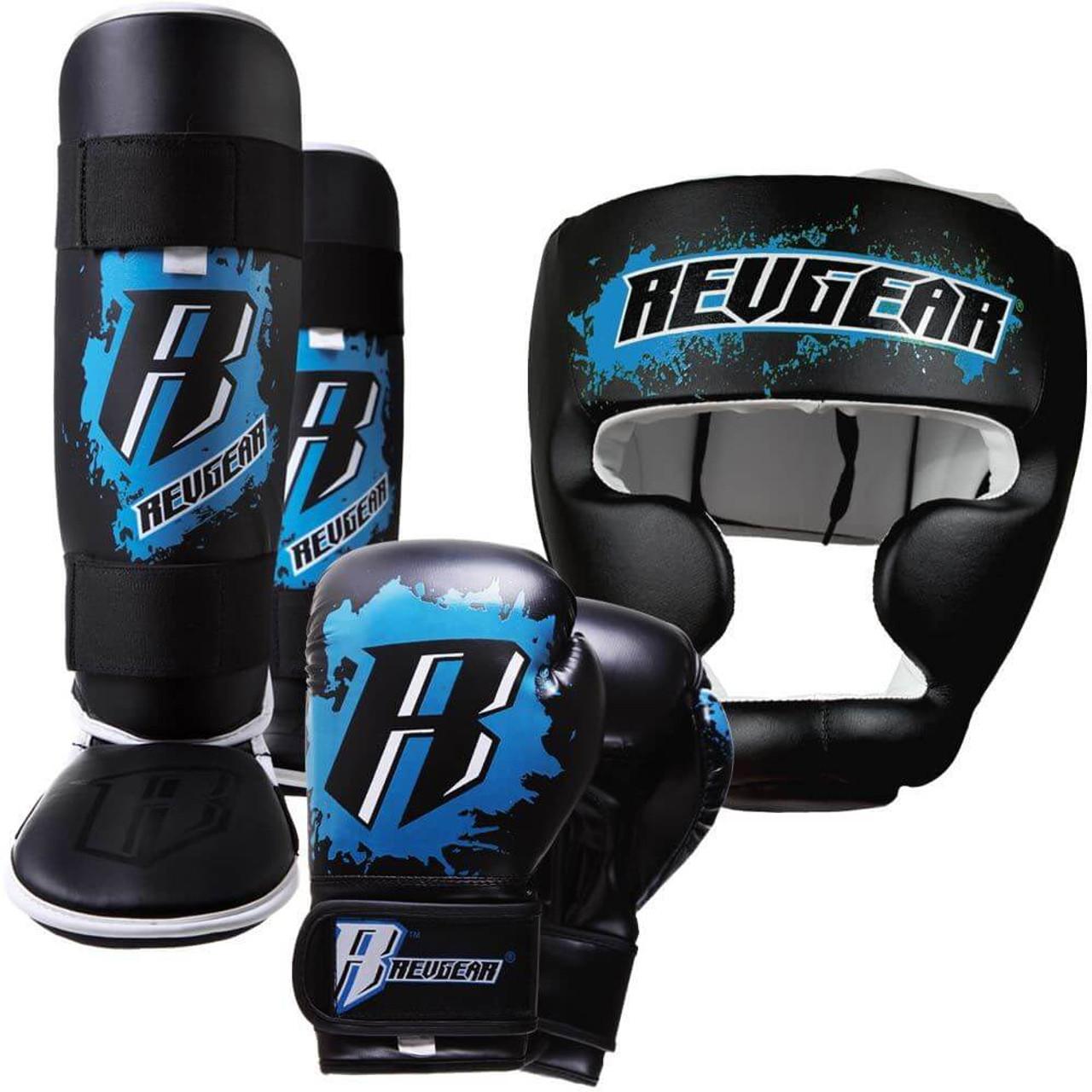 Kids Deluxe Kickboxing Kit - Blue