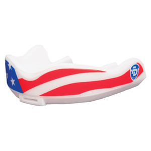 Fightdentist Junior Boil & Bite Mouth Guard - Stars & Stripes
