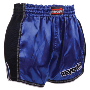 Thai Original Low Waist Muay Thai Short - Blue