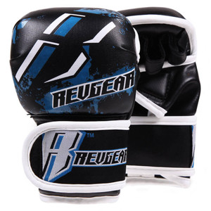 Youth Deluxe MMA Gloves - Blue
