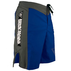 Krav Maga Fight Short - Blue/Grey