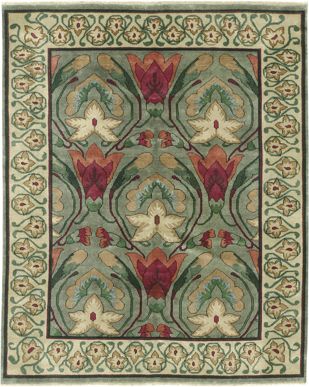 The Stephanotis Rug Pc 4a The Mission Motif