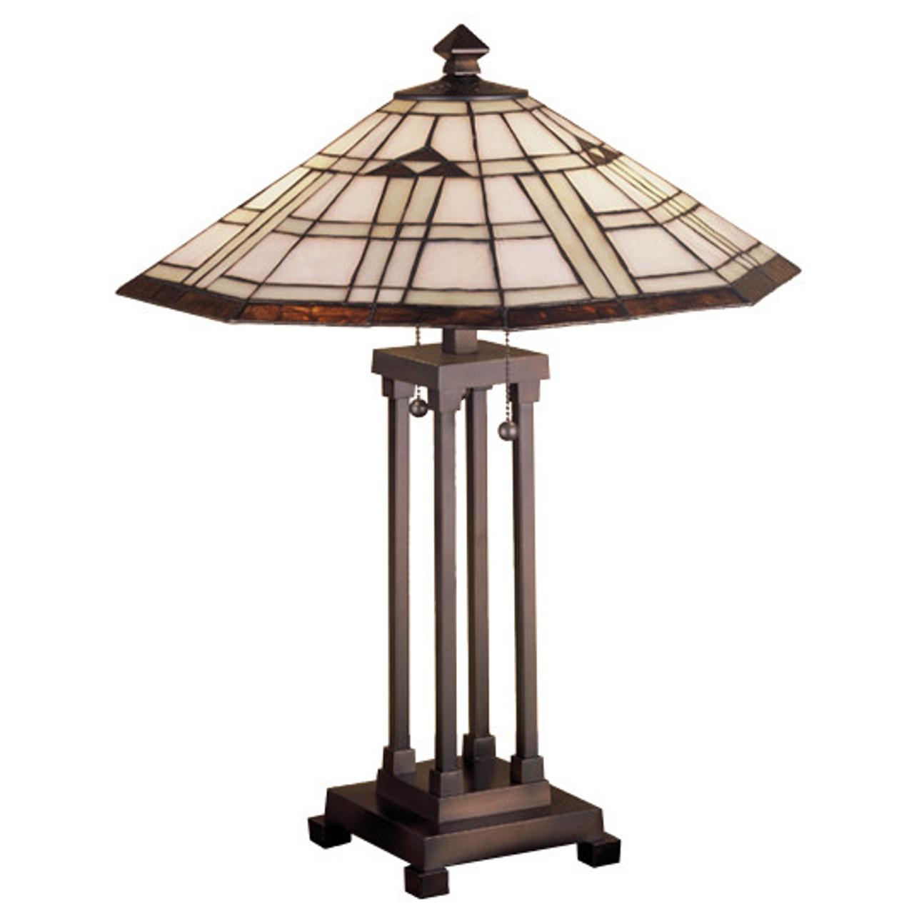 Arrowhead Mission Table Lamp 50281 M