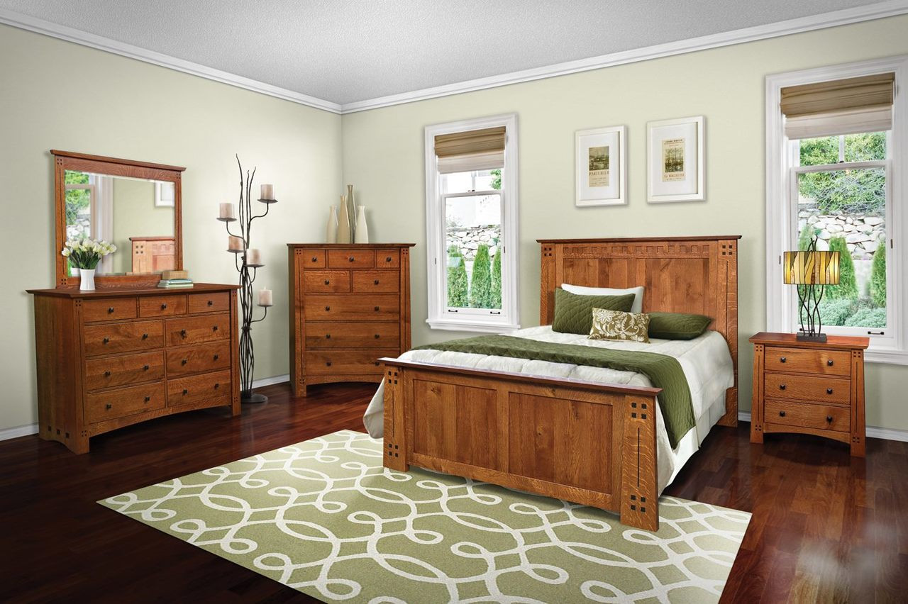 Delicieux Olde Town Mission 5 Piece Bedroom Set
