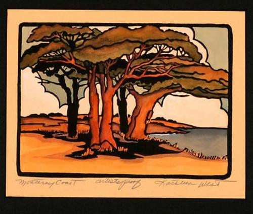 Monteray Coast Print