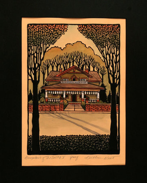 Bungalows of the South II Print