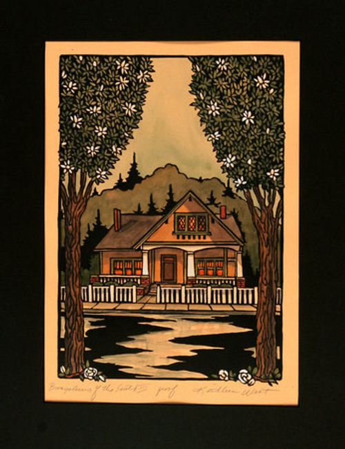 Bungalows of the South III Print