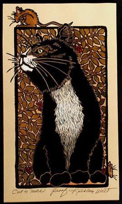 Cat n Mice Print
