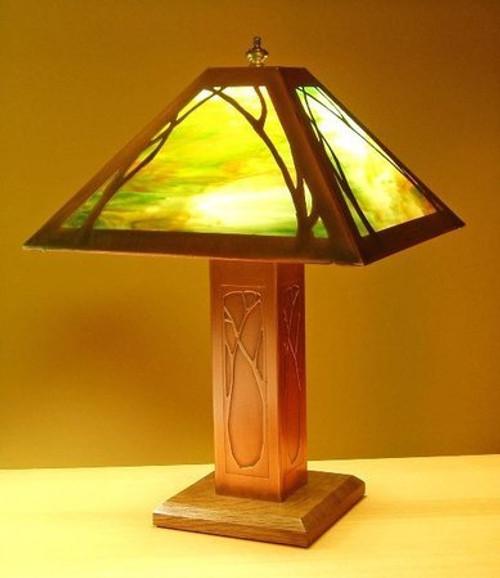 Table Lamp - Art Nouveau Design