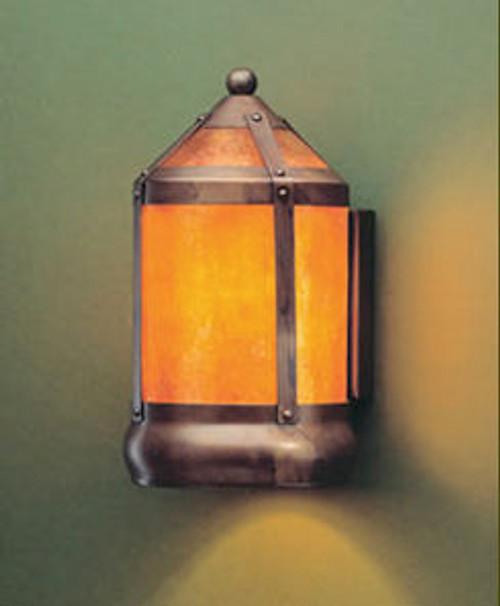 the mica lamp company flush mount mica scone ml130f