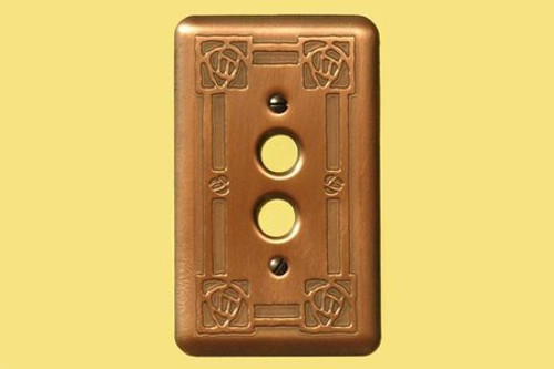 Copper Switch Plates