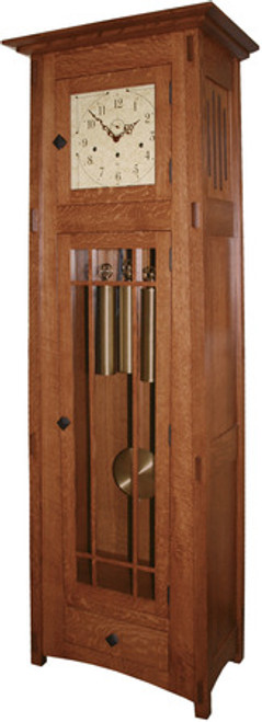 Mission Grandfather Clock 605 Bh
