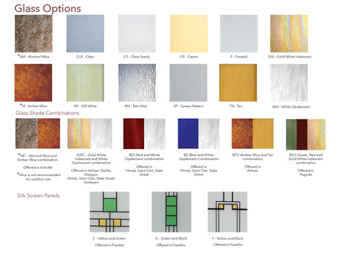 Glass Options