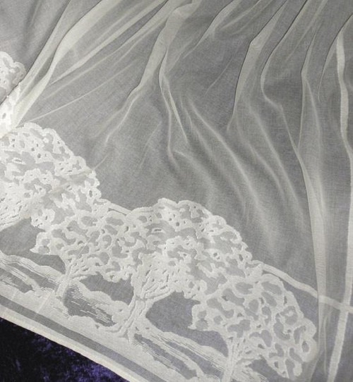 Glens Edge Lace Curtain