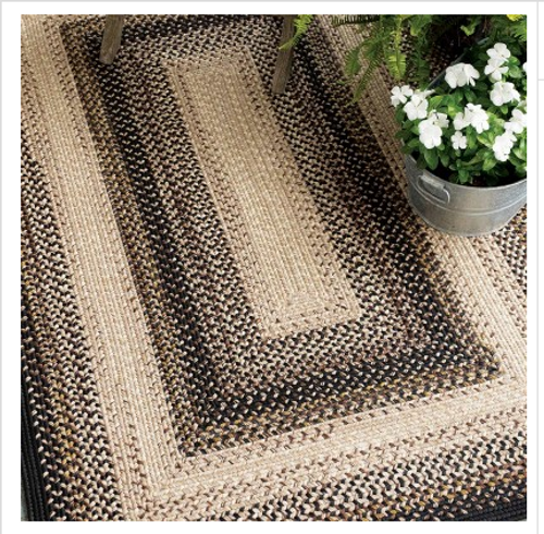 Black Mist Ultra Durable Rug