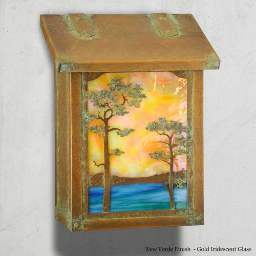 Monterey Pine Mailbox
