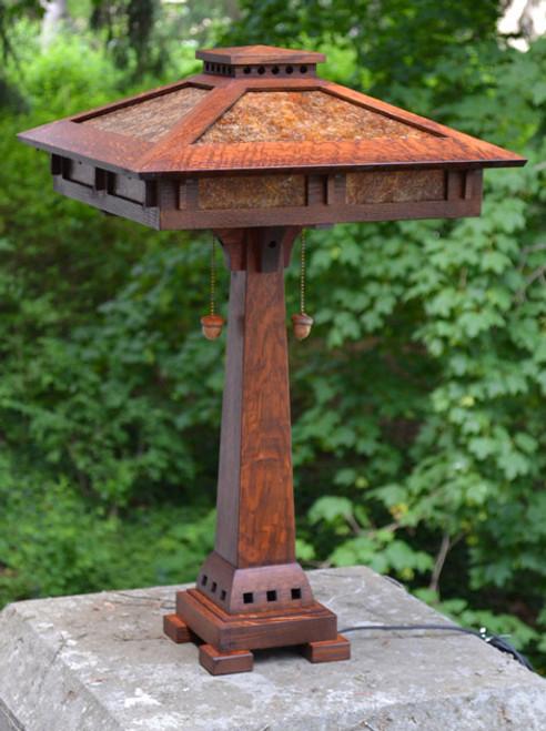Prairie Craftsman Reading Lamp