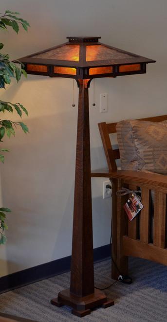 Incroyable Craftsman Prairie Floor Lamp