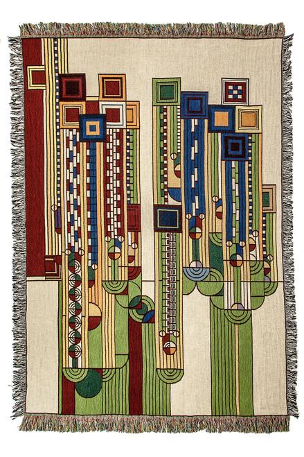 Saguaro Forms Throw Blanket