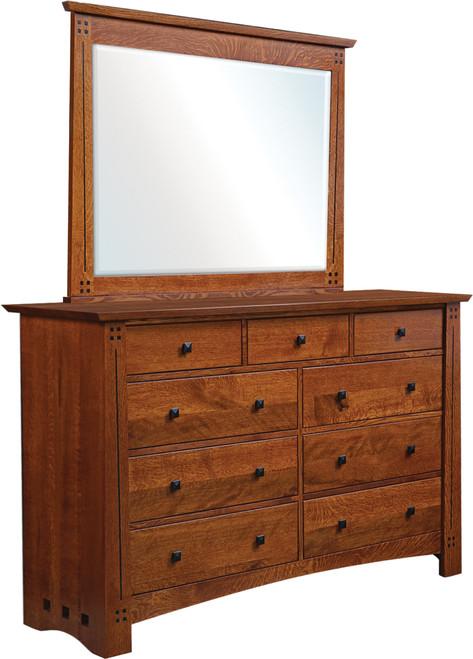 Old Glasgow Mission Dresser and Mirror