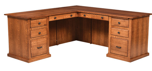 Salem Single Pedestal Desk