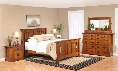 Aurora Crofter 4 piece bedroom set