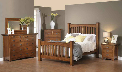 Craftsman 5 piece bedroom set