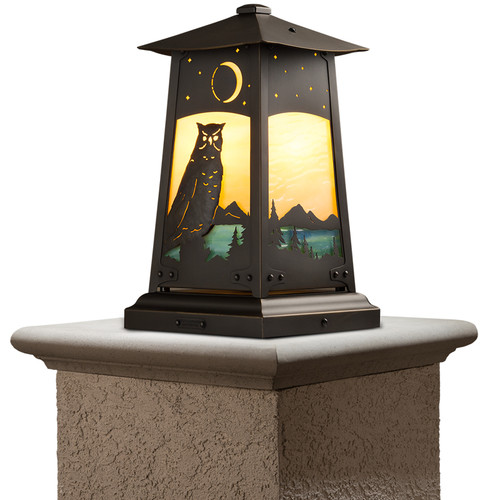 Owl Column Mount