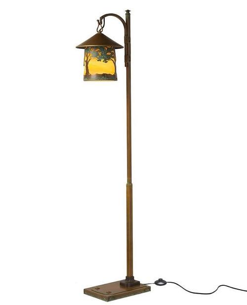 Huntington Hook Arm Floor Lamp
