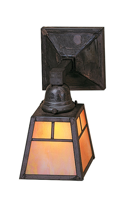 Mission Style Indoor Wall Sconce