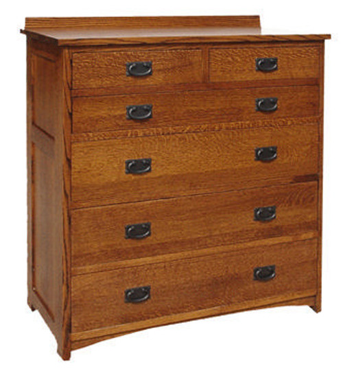 American Mission 6 Drawer Bureau AMW-4006/2-F