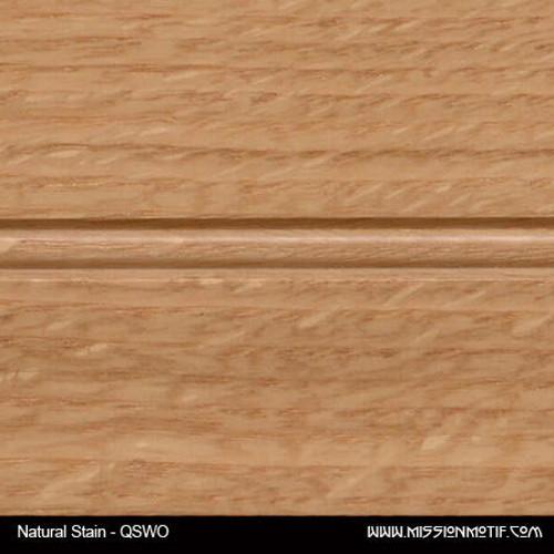 Quartersawn White Oak - Natural Sample