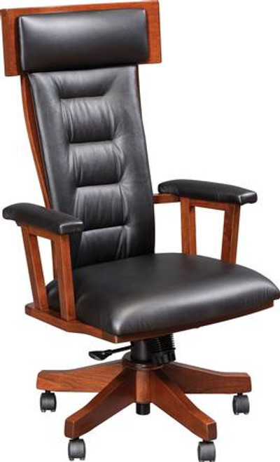 London Desk Chair with Gas Lift LDC-BER-58