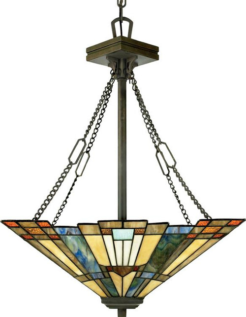 Mission style chandeliers arts and crafts style pendant aloadofball Gallery