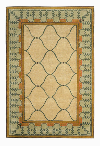 Craftsman Autumn Vine Rug The Mission Motif