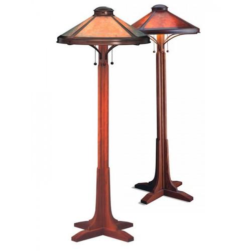 The Mica Lamp Company Bungalow Floor Lamp Ml051