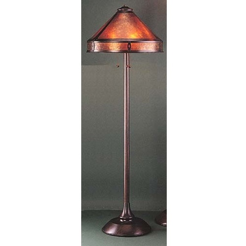 The mica lamp company 060 mission floor lamp aloadofball Images