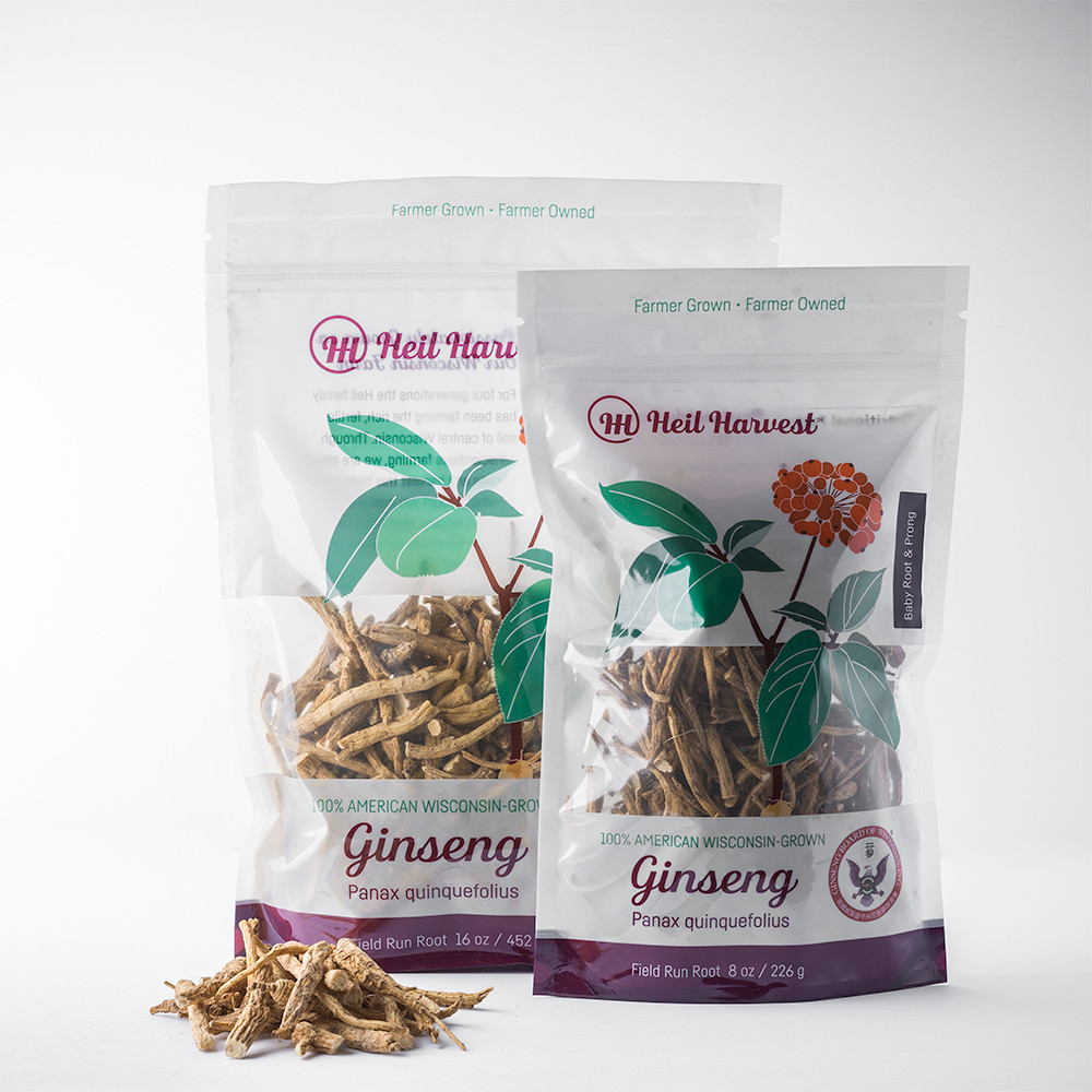 Wisconsin Baby Root & Prong Ginseng