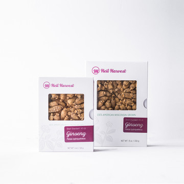 Premium Wisconsin Ginseng Gift Box Grades Short Standard #S-16