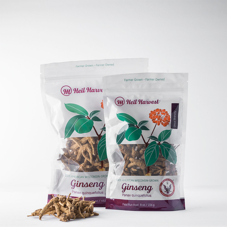 Wisconsin Uncut Branchy Ginseng