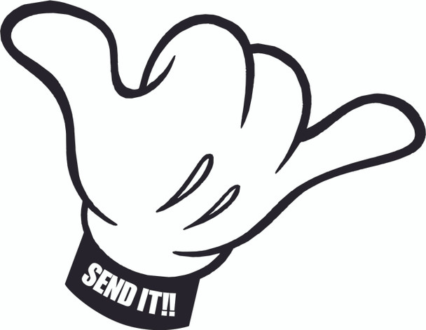Send It - Hang Loose Sticker