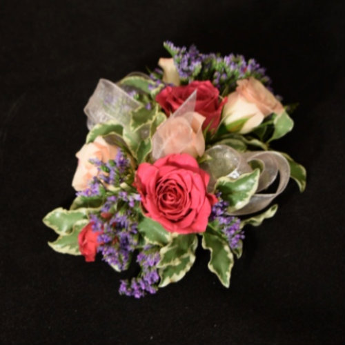 PINK AND LAVENDER SPRAY ROSES