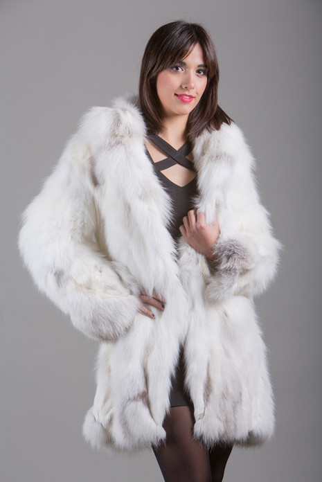 Shadow   Fox Fur Coat