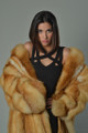 Red Fox  4/5 Full Length Fur Coat